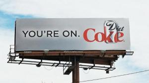 Coke billboard